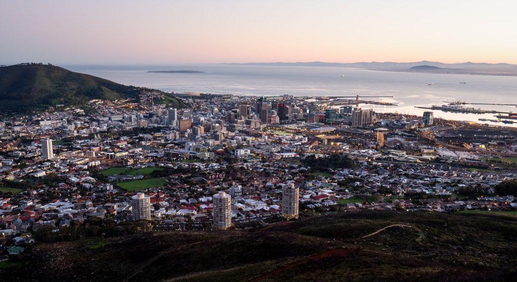 Ciudad del Cabo, la capital de Sudáfrica