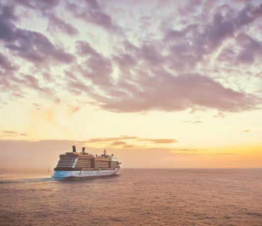 Crucero en mar abierto