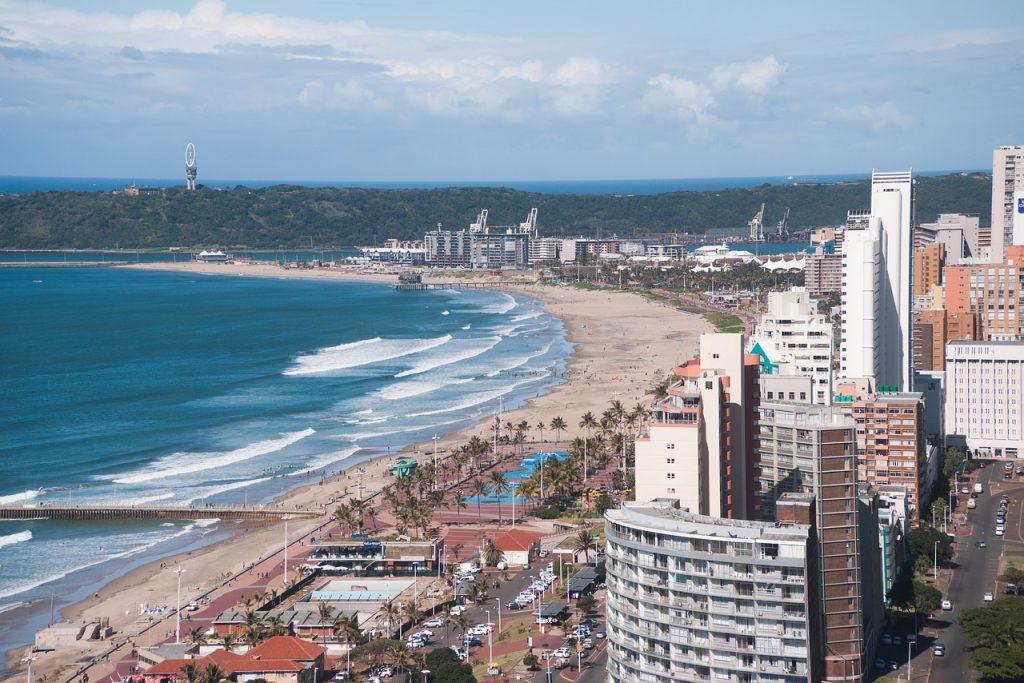 Durban, una de las principales ciudades en Sudáfrica