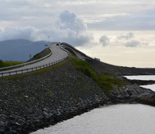 Carretera del Atlántico en Noruega