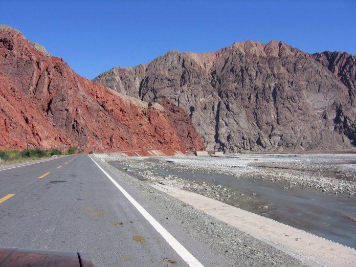 Carretera de Karakorum en Pakistan