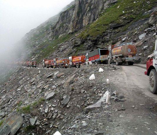 Paso de Rohtang en India