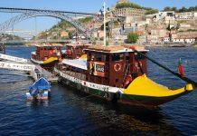 Oporto desde el río Duero vía pxhere.com
