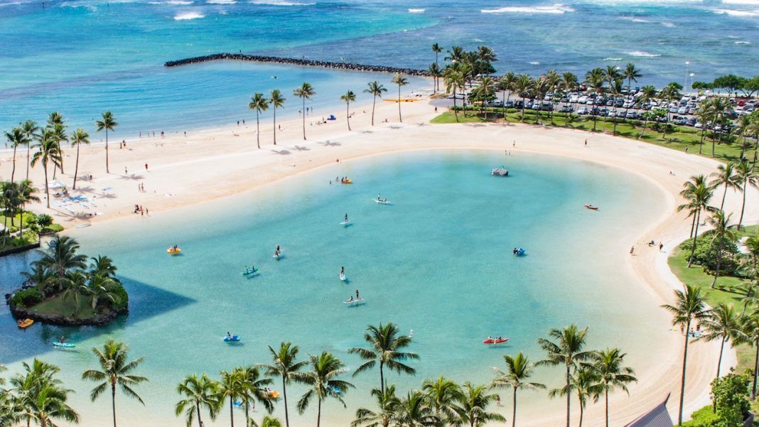 Playa en Hawái - Foto de Andrew Ruiz