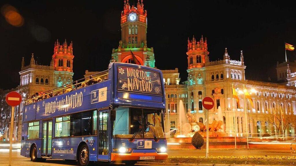 autobus naviluz en cibeles