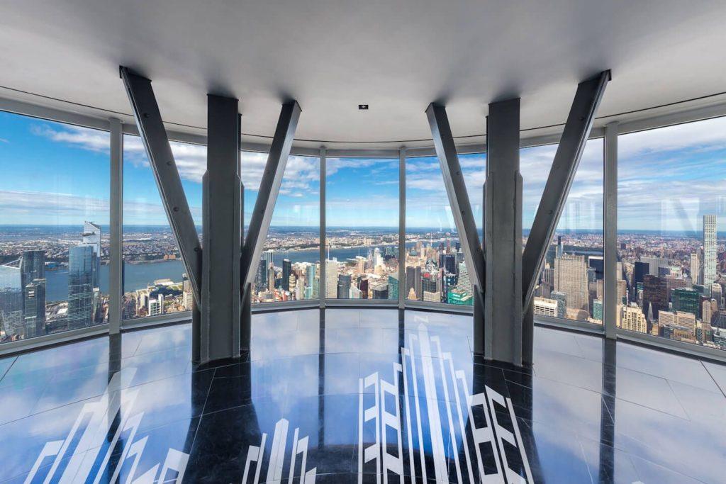 Observatorio de la planta 102 - Foto de Vistas desde el nuevo mirador - Foto de esbnyc.com