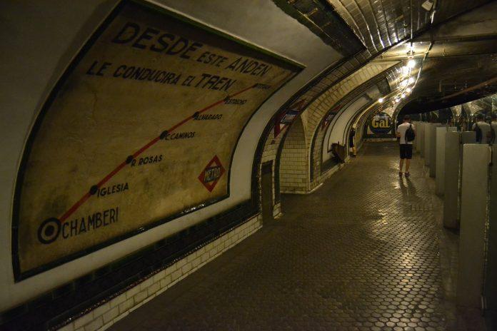 estacion abandonada chamberi
