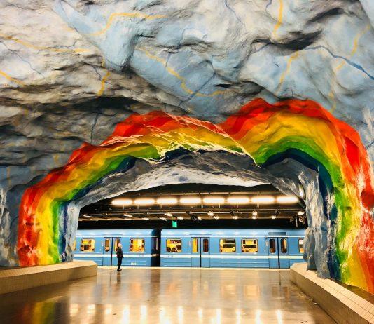 Metro de Estocolmo - Foto de Norman Tsui
