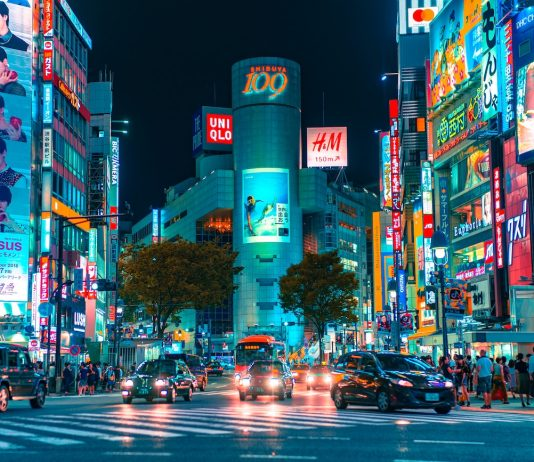 Shibuya en Tokio