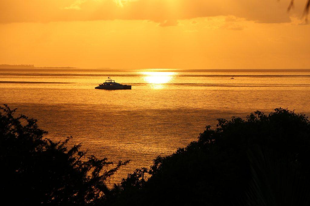 Amanecer en Mozambique