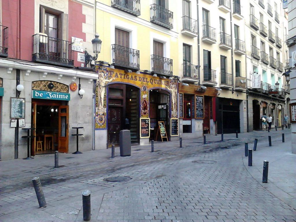 Tabernas de Madrid