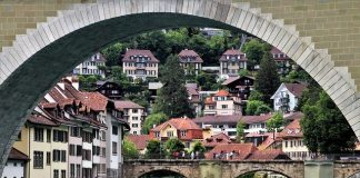 Berna , ciudad medieval.