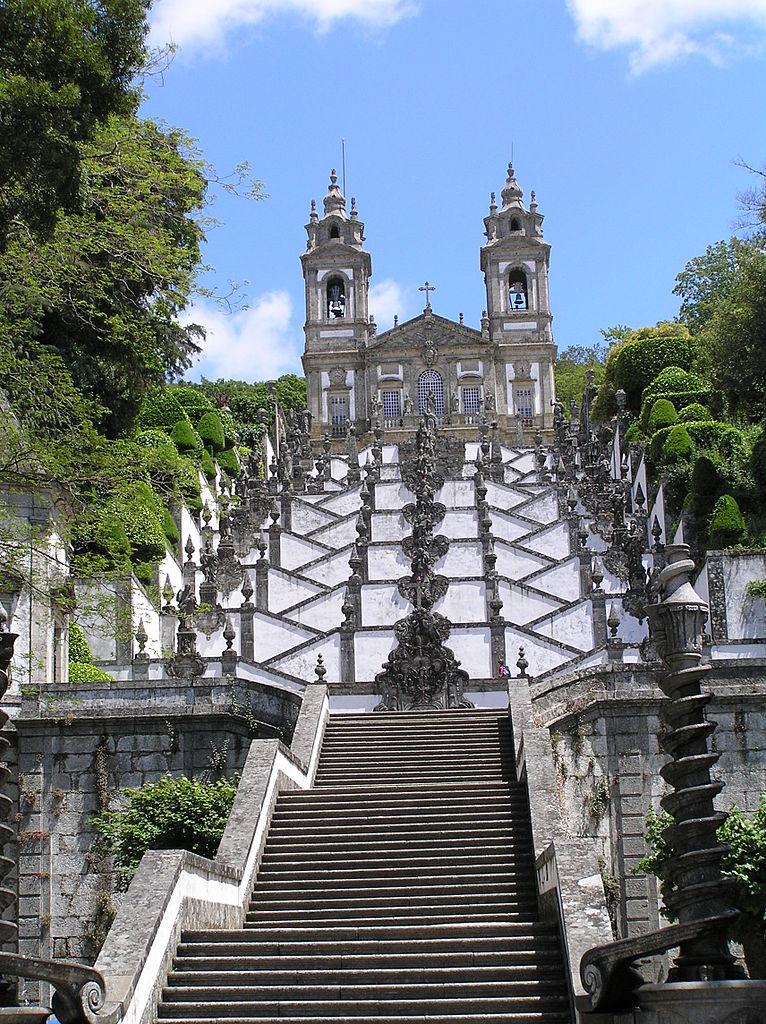 Santuario Bom Jesús. Braga.