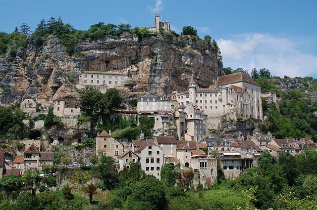 Rocamadour, la ciudad medieval de Midi Pirenées