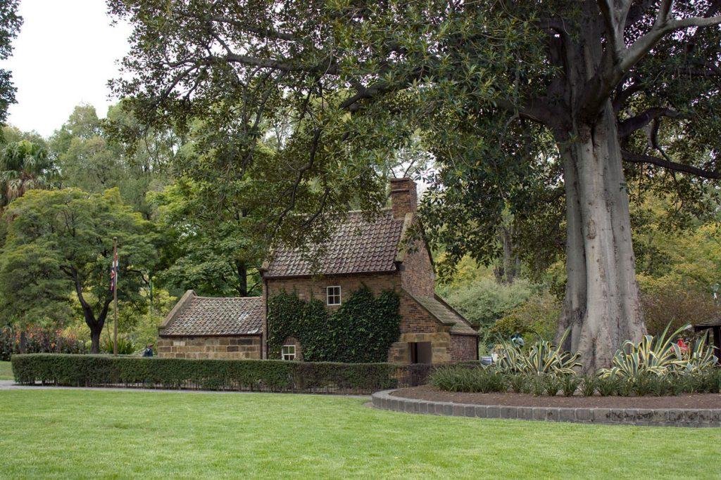 Casa del capitán Cook