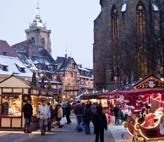 mercado navidad en colmar