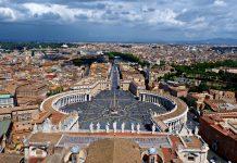 plaza san pedro el vaticano paises pequenos mundo