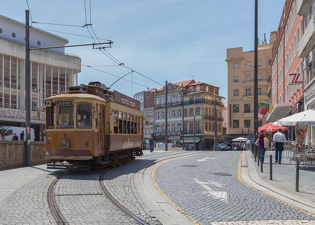 Tranvía, Oporto.