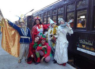 Tren Navidad