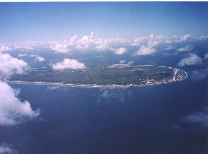 vista aerea de nauru