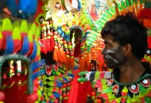 El festival Ati-Atihan de Filipinas