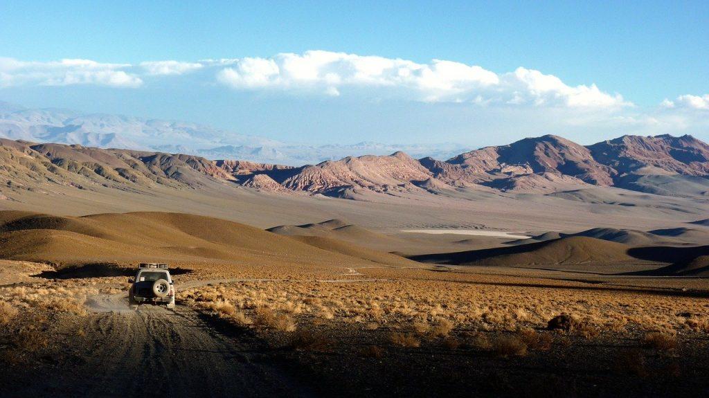 Desierto de Atacama en Bolivia