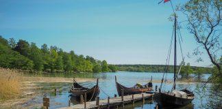 Barcos vikingos en Birka