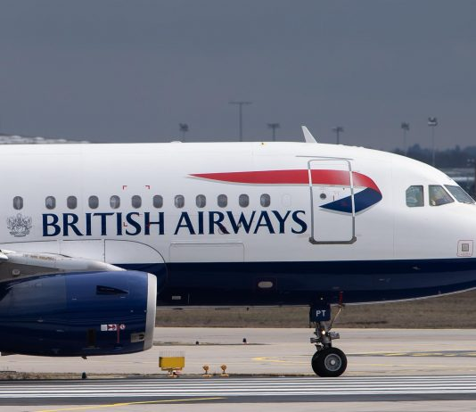 British Airways coronavirus