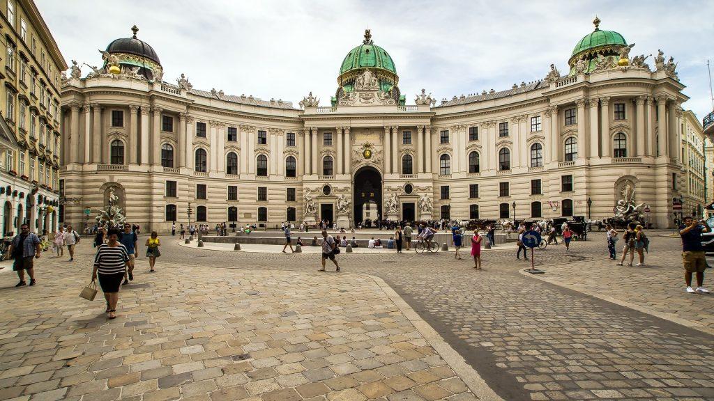Palacio de Hofburg.
