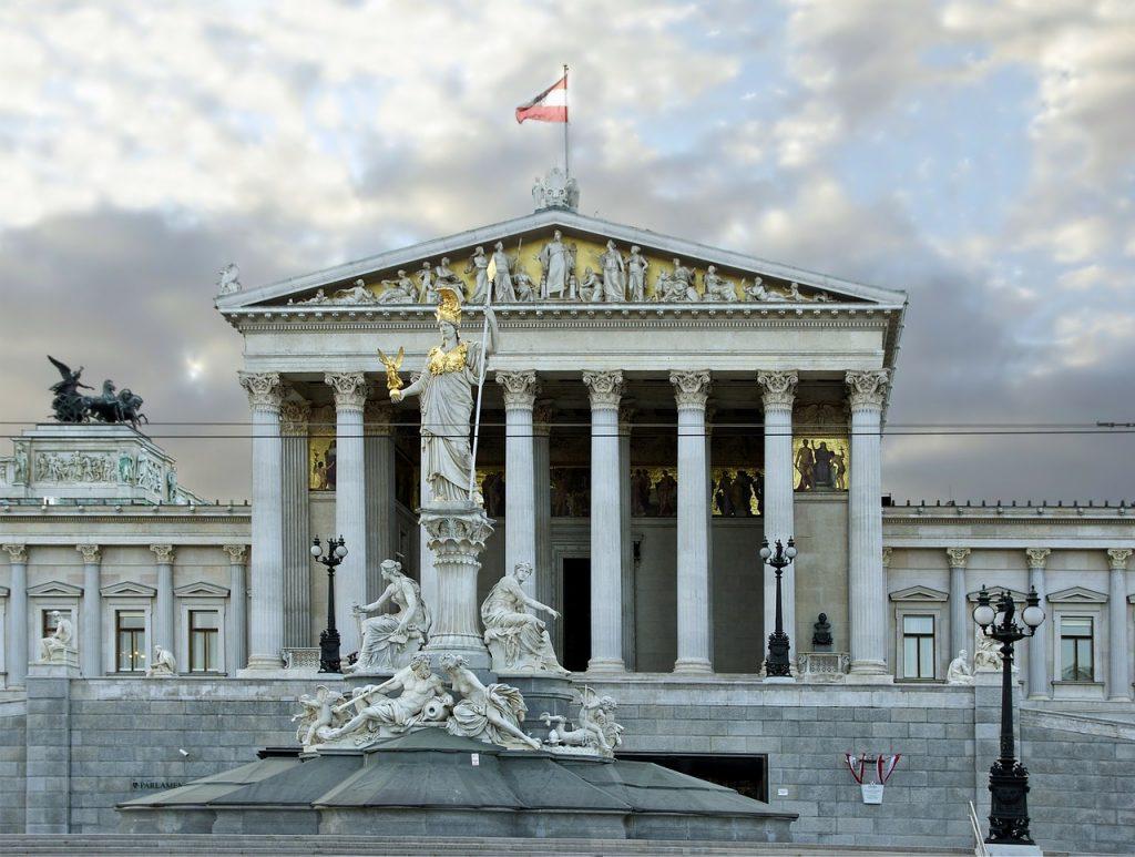Parlamento de Viena.