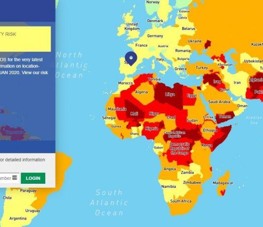 Países más peligrosos 2020
