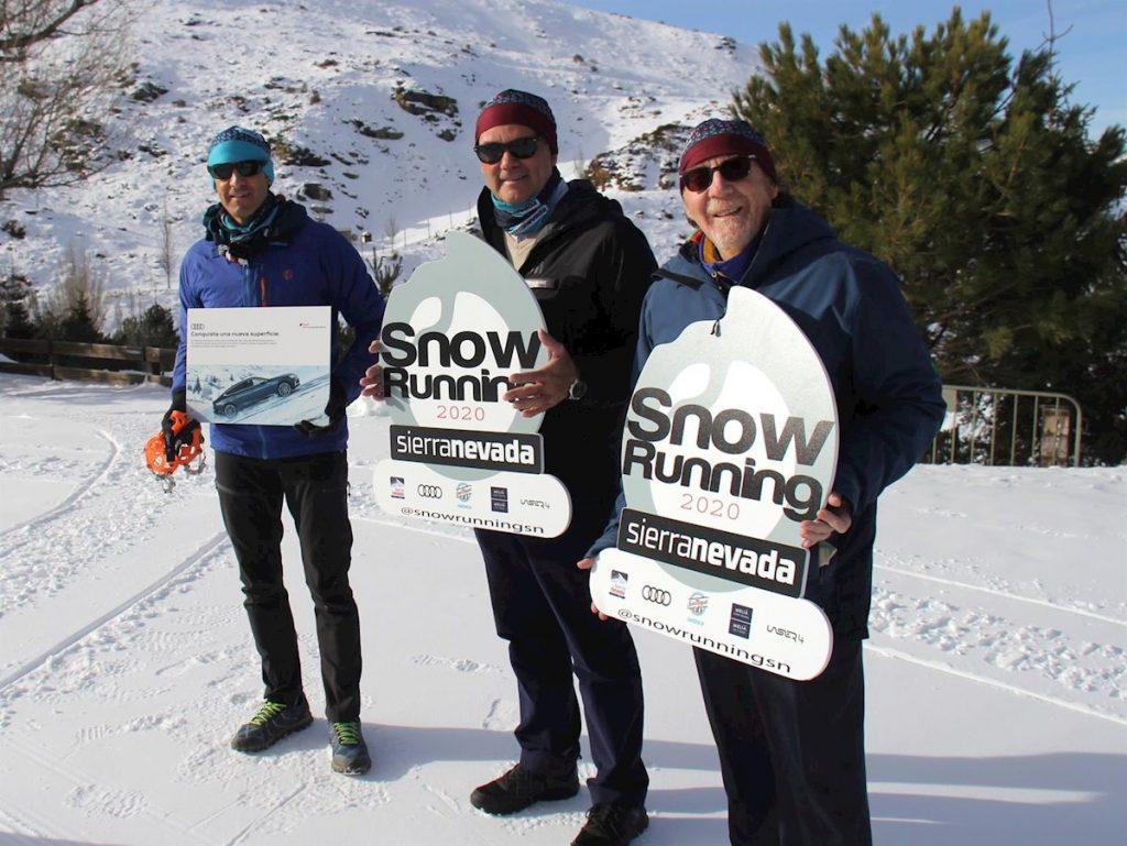 Snow Running de Sierra Nevada