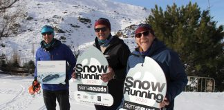 Snow Running de Sierra Nevada