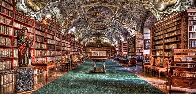 Clementinum, biblioteca de Praga