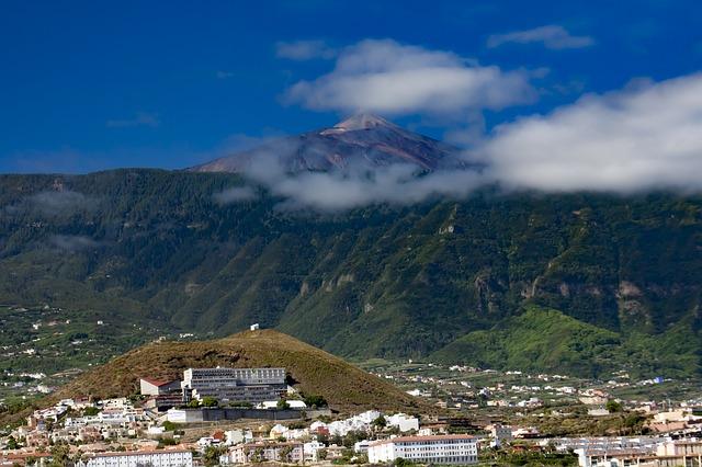 El Teide desde el valle de La Orotava