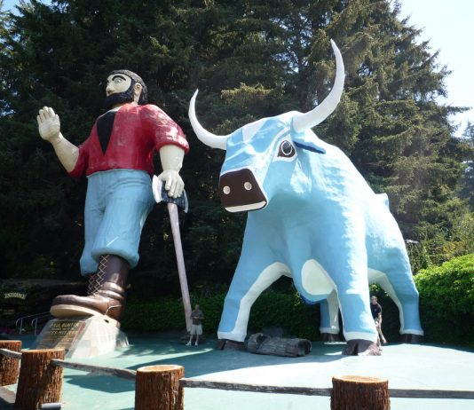 Estatuas gigantes de Estados Unidos
