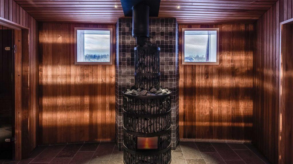 sauna de Arctic Bath