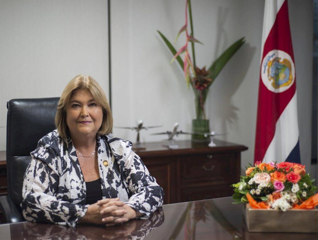 Ministra Turismo Costa Rica