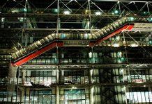 Detalle en el Museo de París Pompidou