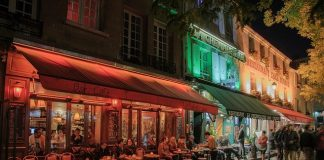 Las cafeterías de Le Marais están abiertas hasta altas horas