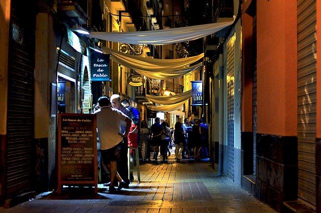 Vida nocturna en Zaragoza centro