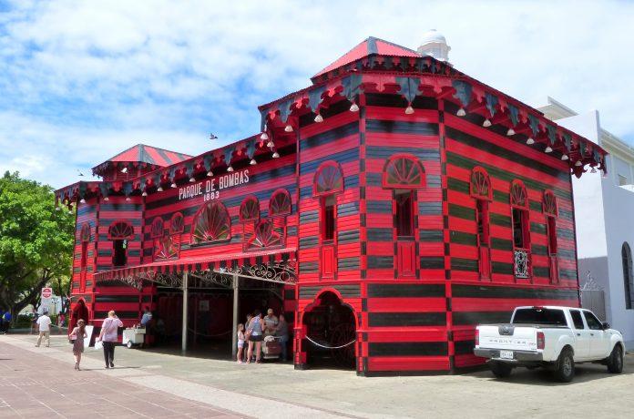 Estación de bomberos en Ponce