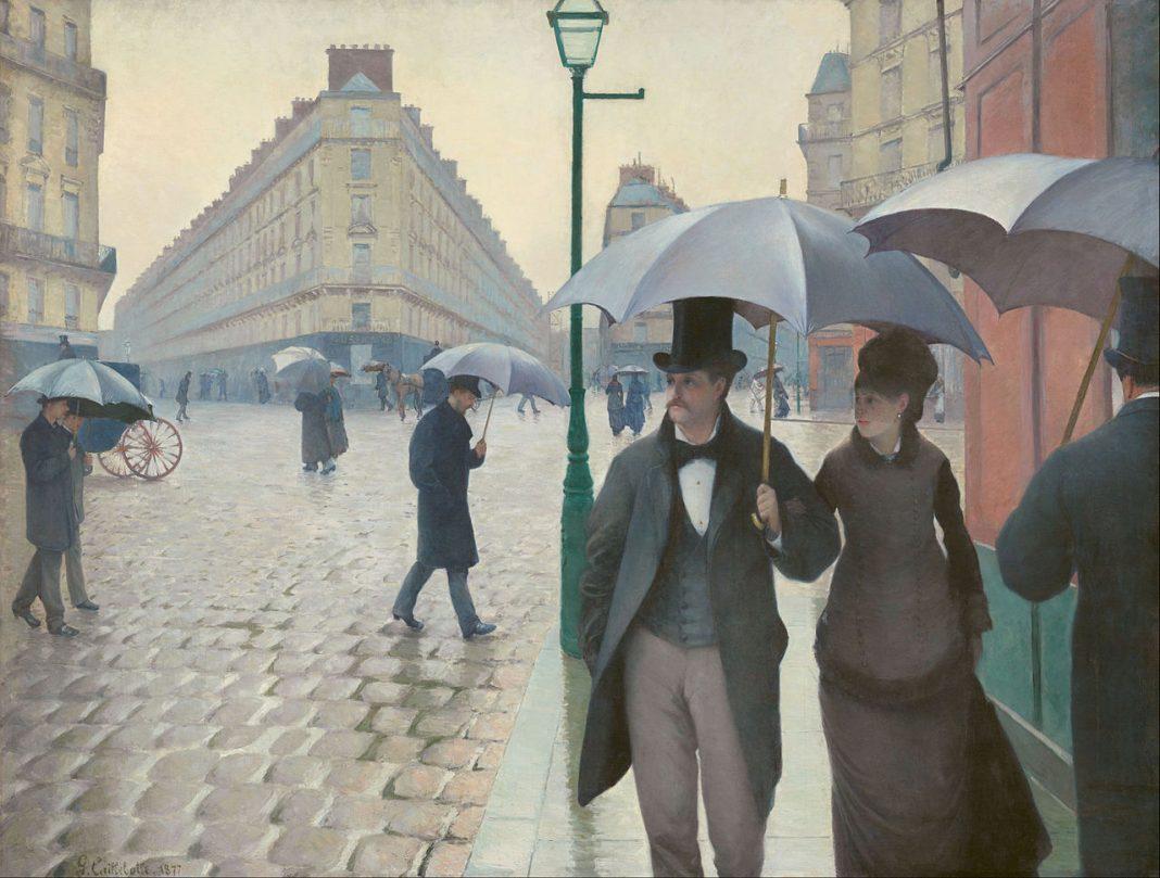 Rue de Paris, temps de pluie