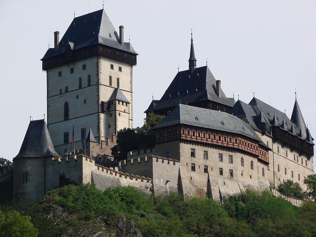 Castillo de Karlštejn.