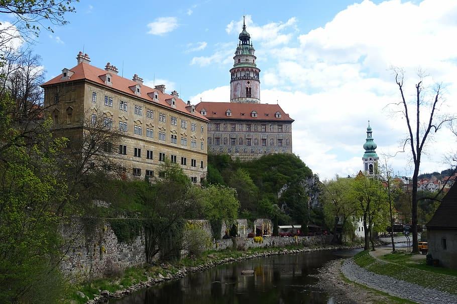 Castillo de Český Krumlov.