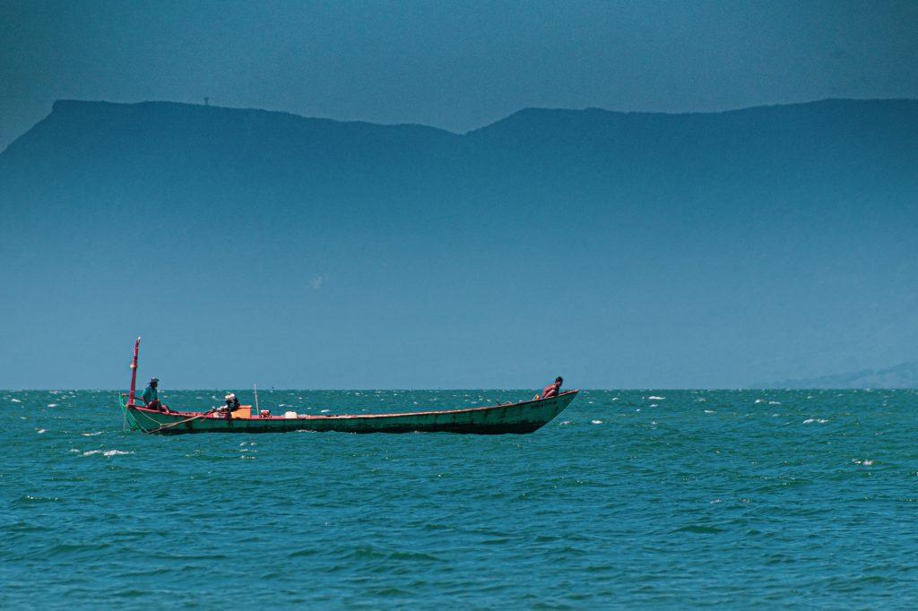 Barco en Camboya