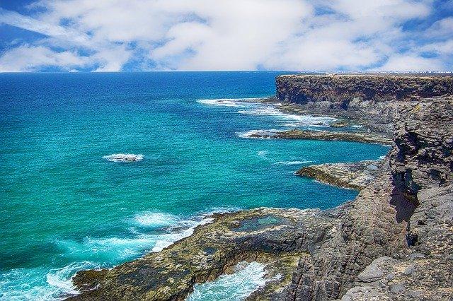 Una de las muchas maravillas naturales de Fuerteventura