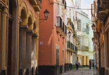 Casco antiguo de Cádiz