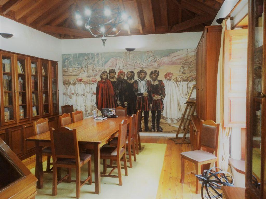 Sala Magallanes en la biblioteca municipal de Granadilla de Abona