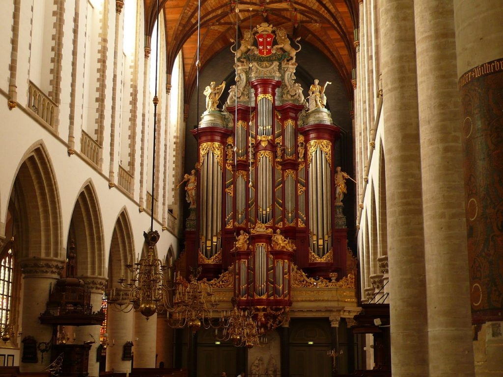 Órgano catedral de Haarlem